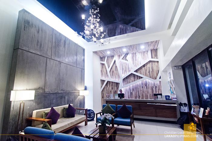 Ferra Hotel Boracay Lobby