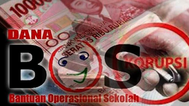 Hasil gambar untuk korupsi dana bos