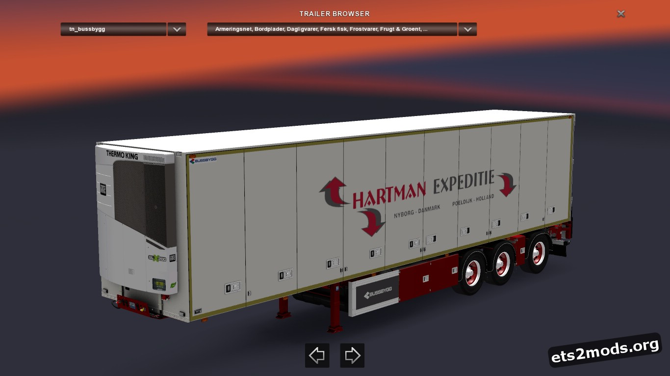 Busbygg Euromax Hartman
