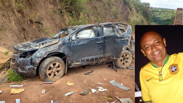 Coronel da PM e família escapam da morte em acidente grave no interior do Maranhão