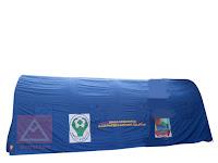 Tenda Regu Kerangka Besi Oval 5.2x8x2.8