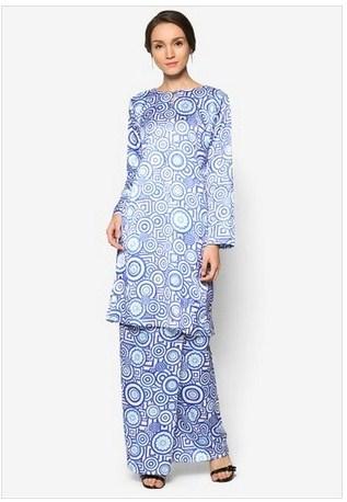 Gambar Baju Trend 2017 : gambar, trend, Aneka, Koleksi, Kurung, Muslim, Modern, Trend, Muslimah, Terkini