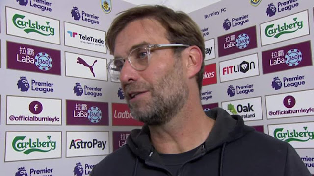 Liverpool Boss Jurgen Klopp Laments Referee Treatment After Burnley Win