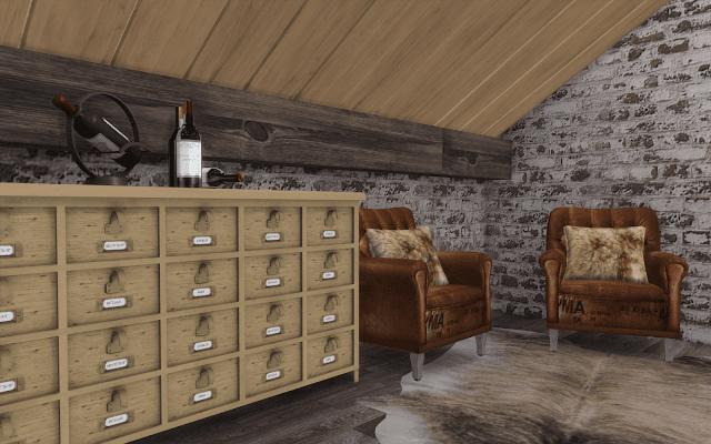 cave à vin sims 4