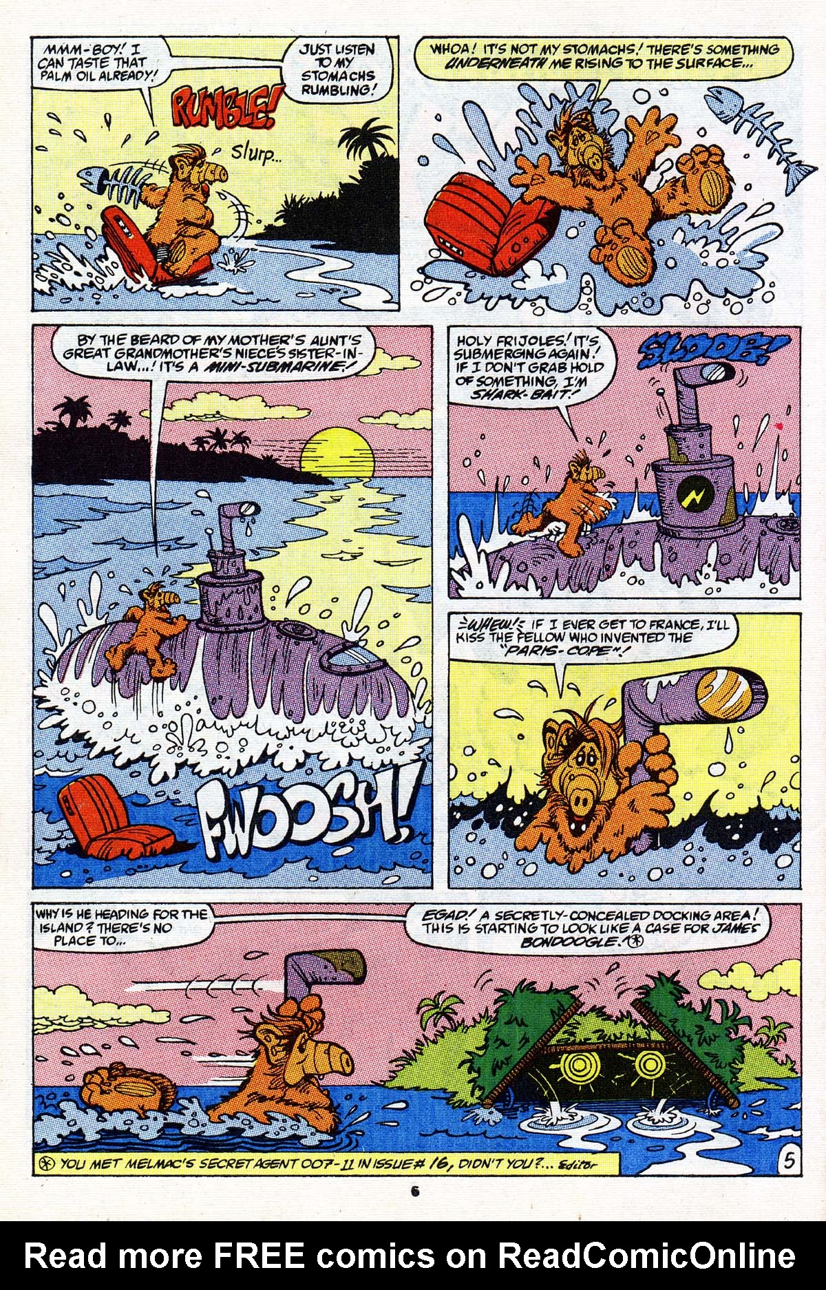 Read online ALF comic -  Issue #27 - 6