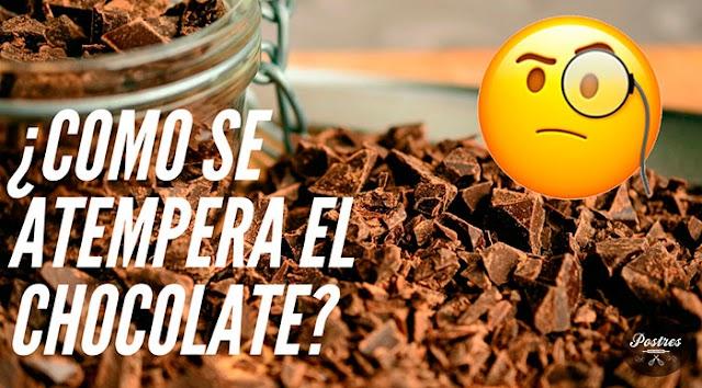 🌡️¿Cómo ATEMPERAR CHOCOLATE y POR QUÉ hay que HACERLO? 🤷♂️