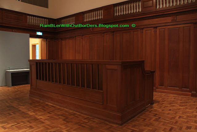Wall niches, Courtroom 3, National Gallery Singapore, Old Supreme Court Building, Singapore