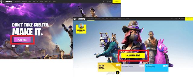 ιστοσελίδα της epic games