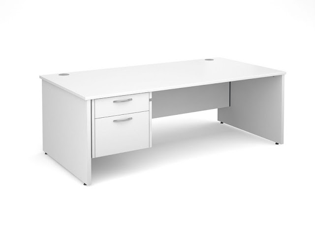 best buy cheap white office desks with drawers for sale online