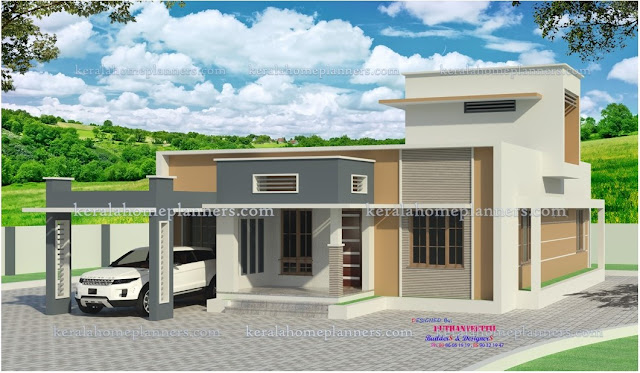 low cost 3 bedroom modern contemporary home in 20 lakhs 1600sqft