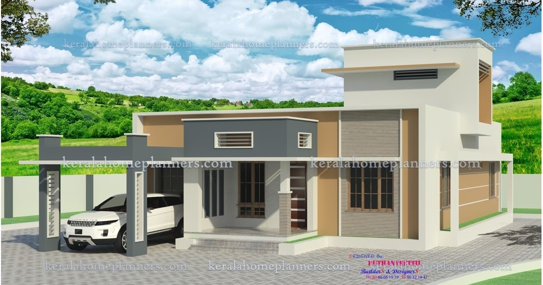 Low Cost 3 Bedroom Modern Contemporary Home in 20 Lakhs ...