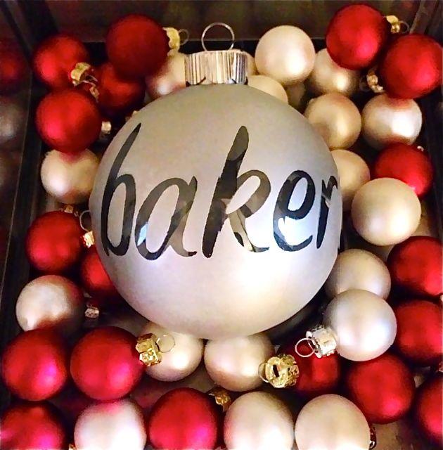 Happiest In Paris DIY Christmas Ornament