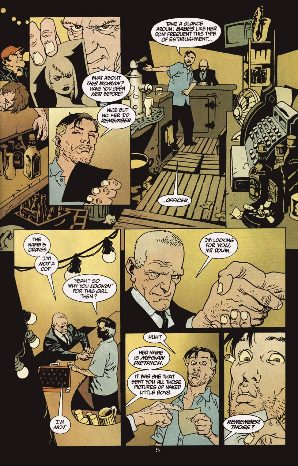 Read online 100 Bullets comic -  Issue #4 - 6