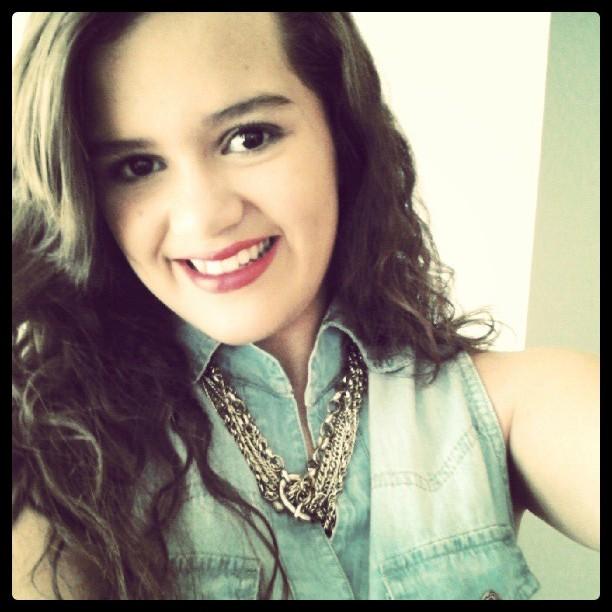 Young brazilian teen girl pietra