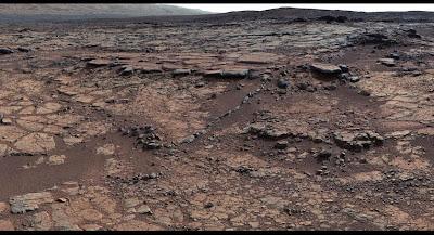 Região de Yellowknife Bay, em Marte