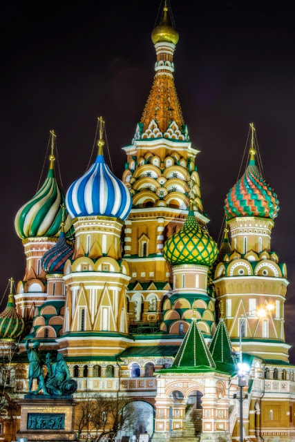Mobile Saint Basil's Cathedral, Moscow, Russia Wallpaper