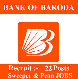 10th, Bank, Bank Of Baroda, BOB, freejobalert, Latest Jobs, Peon, Sarkari Naukri, Sweeper, UP, Uttar Pradesh, bob logo