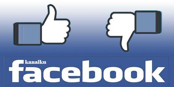 Tombol Dislike Di Facebook
