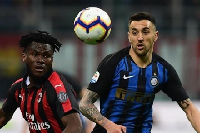 Inter Kalahkan AC Milan di Derby Della Madoninna