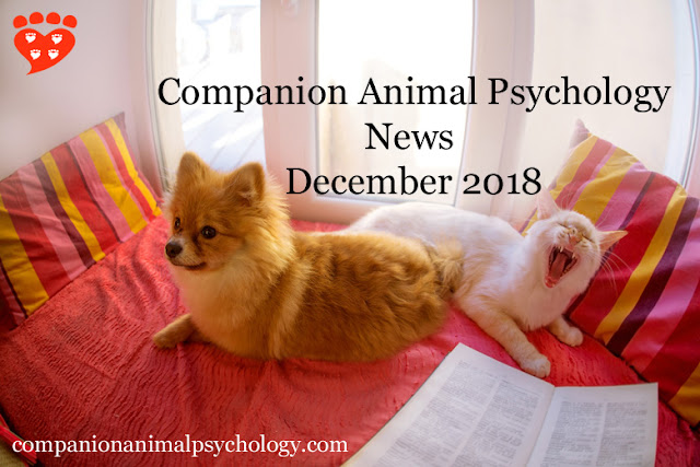 Companion Animal Psychology News December 2018
