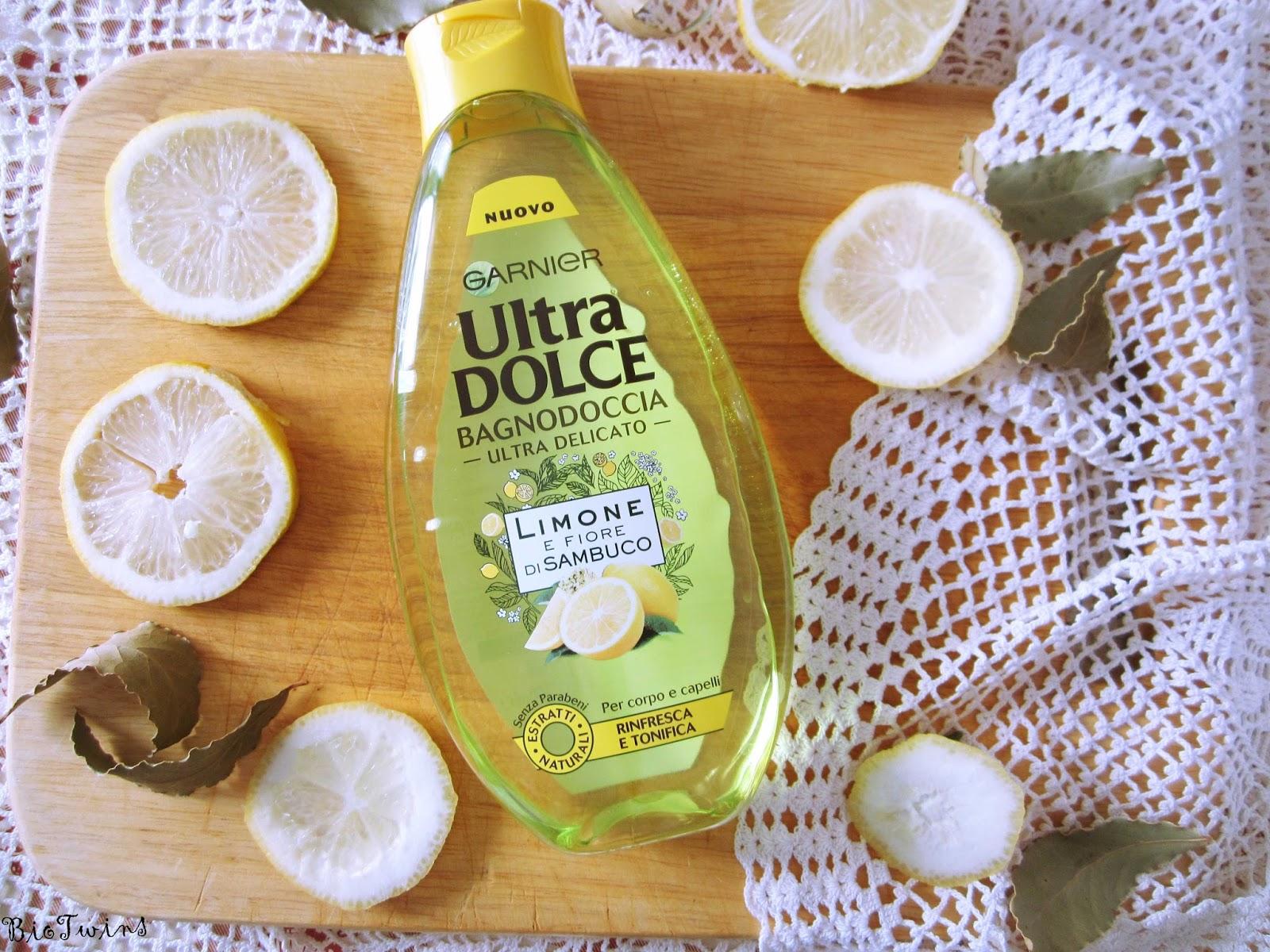 Bagno Doccia Neutro : Bagnodoccia ultra dolce limone e fiore di sambuco garnier biotwins