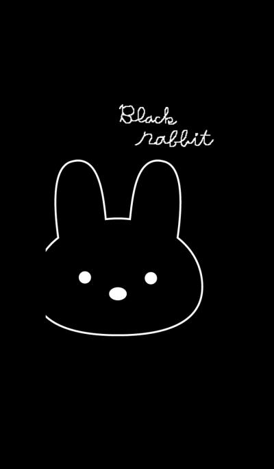 RABBIT BLACK!