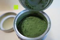 Dose geöffnet: Bio Matcha Tee von Teelirium | Silk Basic | Hochwertiges Matcha Tee Pulver aus Japan in Bio Qualität | 30g Aromaschutzdose | Ideal für Starter | Vegan | Vakuumverpackt | Beste Qualität von Teelirium (Matcha seit 2004)