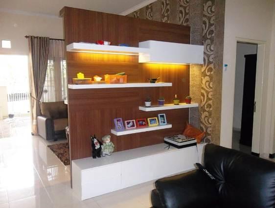 Ruangan Rumah Minimalis Type 30 Dengan Partisi Temporer