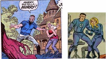 Fantastic Four 41-FrightfulFour-ReedSue