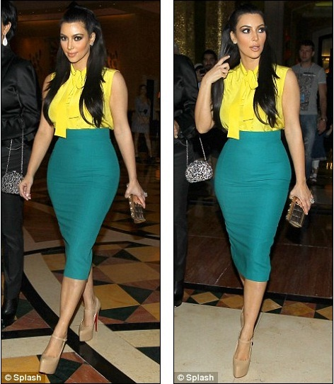 PHOTOS: SKEPTICAL ABOUT LONG PENCIL SKIRTS? GET IN HERE!!!