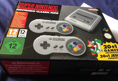 Super Nintendo Classic Mini In Its Box