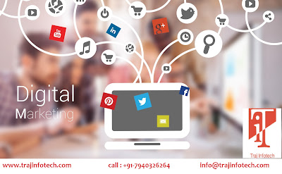 Digital Marketing - Traj InfoTech