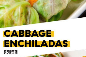 Low-Carb Cabbage Enchiladas