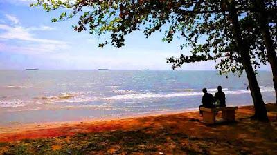 Pantai pengkalan balak melaka 1