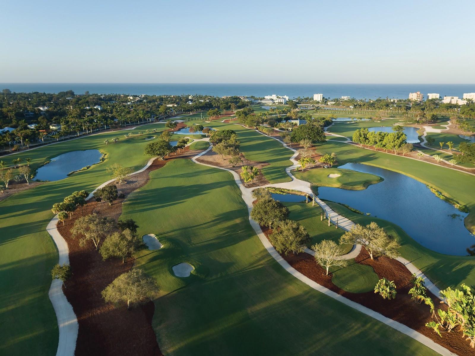 Aaa Naples Fl >> American Golfer The Aaa Four Diamond The Naples Beach Hotel Golf