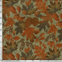 Fall Impressions Flannel fabric from Moda