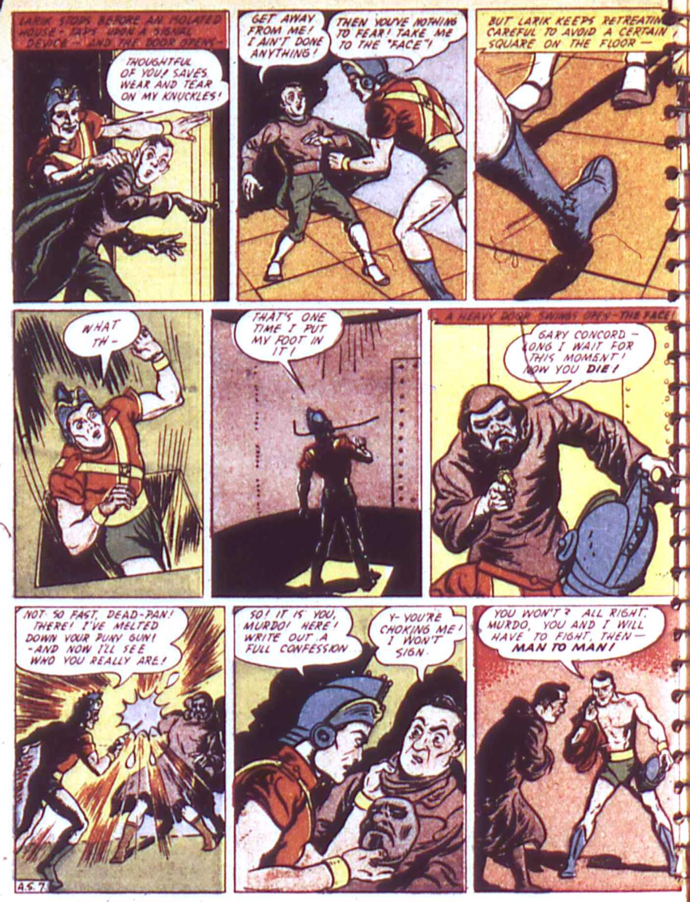 Read online All-American Comics (1939) comic -  Issue #17 - 34