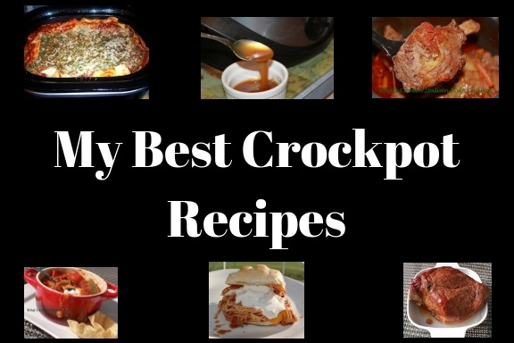 This is a roundup of my best slow cooker meals from dessert to savory meats and meals