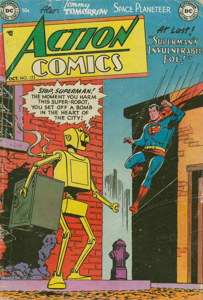 Read online Action Comics (1938) comic -  Issue #173 - 1