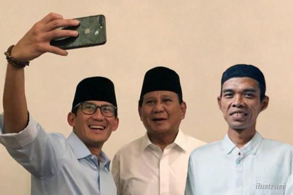 Fadli Zon: Pada Waktunya Ustaz Abdul Somad Dukung Prabowo - Sandi