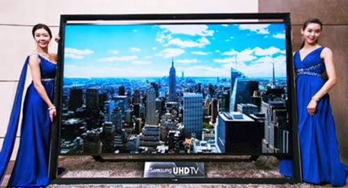 Televisi terbesar di dunia dari Samsung