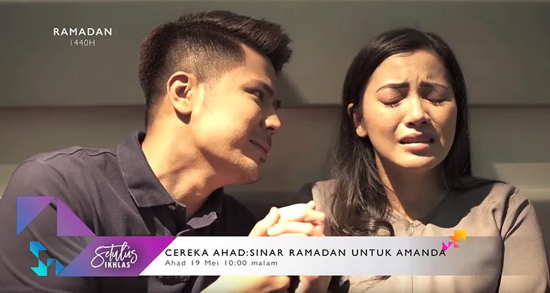 Sinopsis Telemovie Sinar Ramadan Untuk Amanda (2019) TV3
