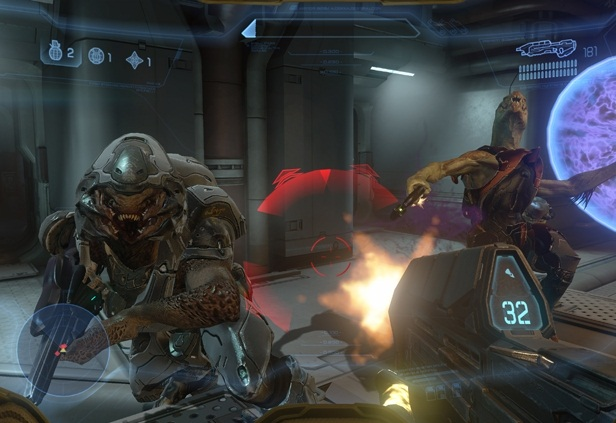 Halo 4 - Campaign Monster Busted