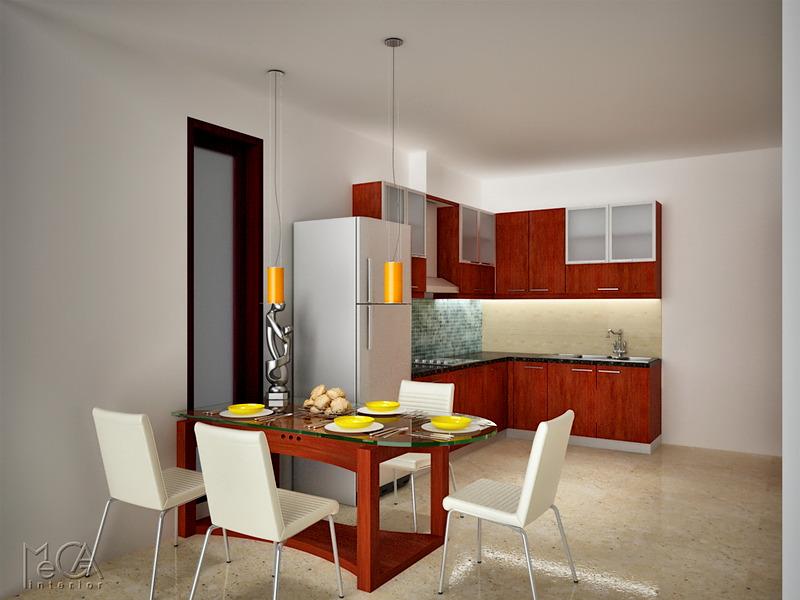 Rumah Di Depok Desain Ruang Makan Minimalis
