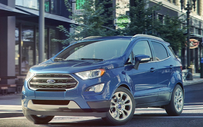 ford ecosport compact suv price  india fords redesign