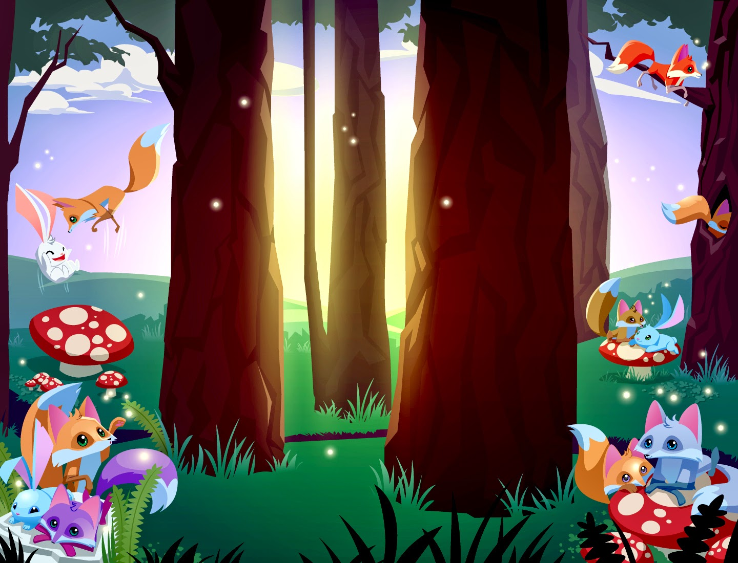 Animal Jam Graphic Central!: Backgrounds