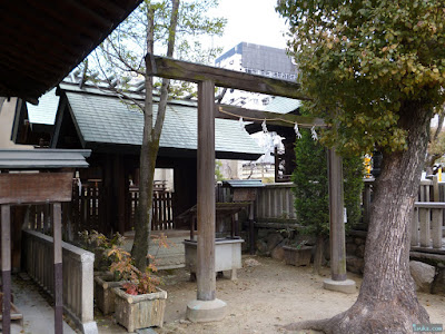 大阪天満宮神明社