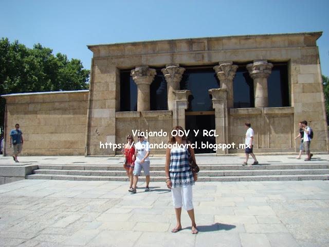 Que hacer, a donde ir, que visitar en Madrid. Templo de Debod