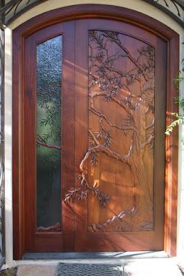 ไอเดียประตูไม้สวย
