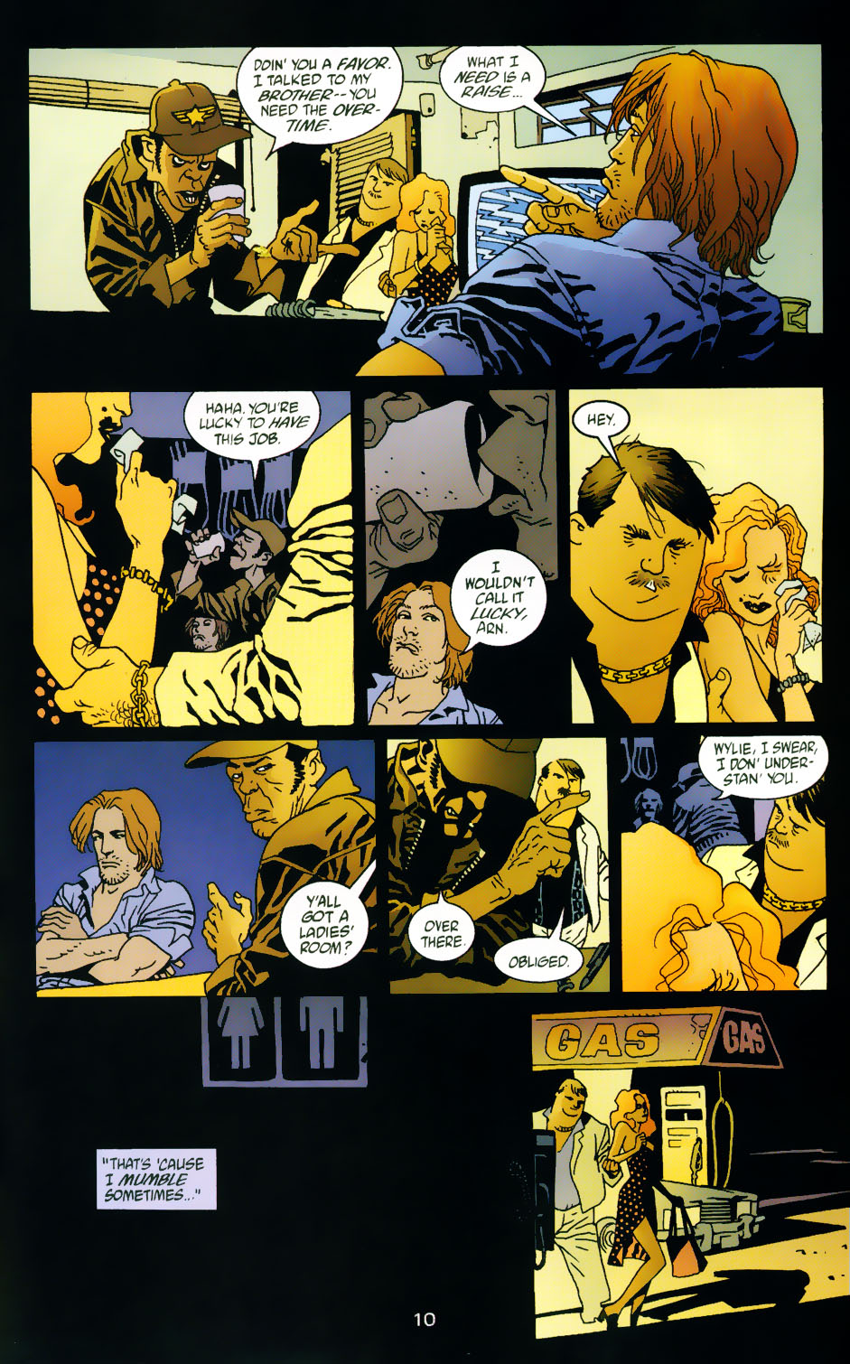 Read online 100 Bullets comic -  Issue #42 - 12